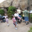 Zoo guests in African Journey