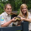 The staff at Pokagon State Park was thrilled about the endangered Blanding's turtle's recovery.