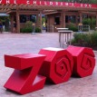 entrance with red ZOO letters