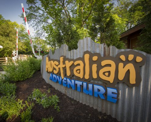 fort wayne zoo australian adventure