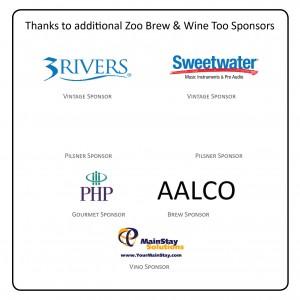Zoo Brew sponsors combined 2016