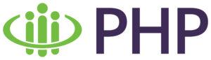 PHP Logo PMS 368 Green PMS 669 Purple Horizontal 2019