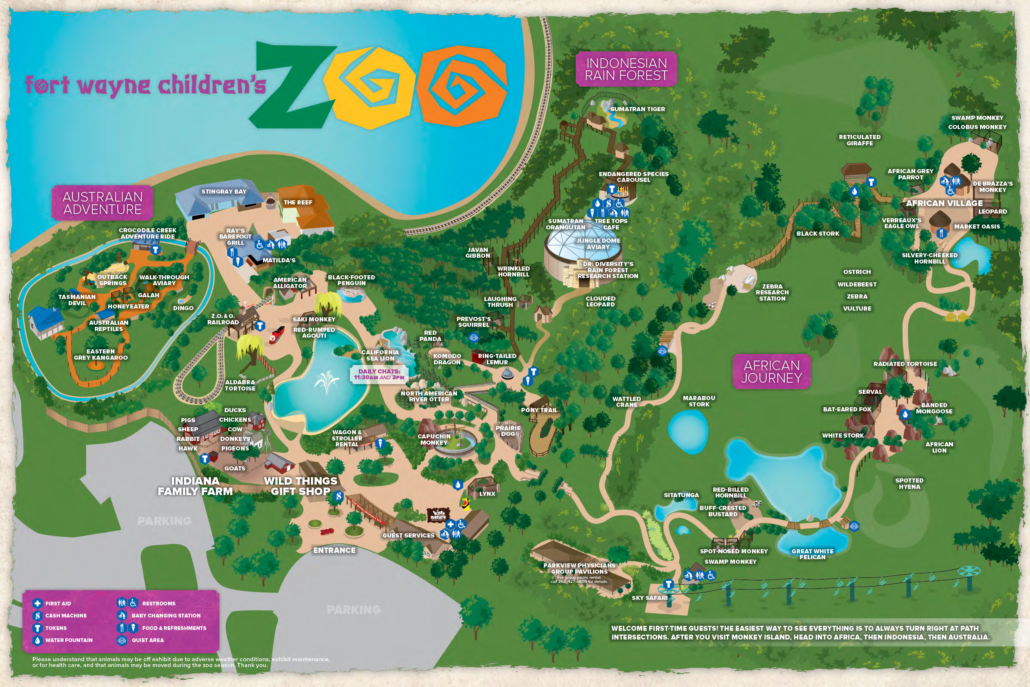 Plan Your Visit   Fort Wayne Children's Zoo Zoo Maps Of A Student on map of a home, map of a hospital, map of a convention center, map of an art gallery, map of a community, map of a park, map of arboretum, map of hotels, map of a church, map of a museum, map of a playground, map of a dog, map of a farm, map of a racetrack, map of a monkey, map of sports facilities, map of amusement parks, map of a theater, map of bike trails, map of houses,