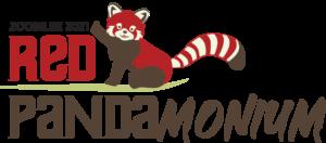 Red Panda Monium Logo No Presented By