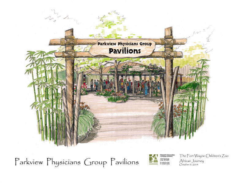 Zoo Parkview pavilions
